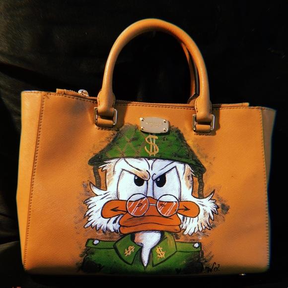 843413d9815a6b Disney Bags | Uncle Scrooge Custom Purse Michael Kors | Poshmark